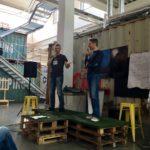 Improv-Bühne in Ka.