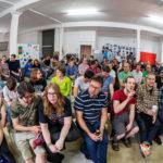 Das Publikum in FFM.