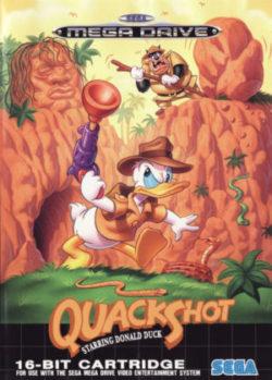 quackshot starring donald duck europäische packung