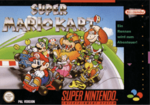 super mario kart deutsches cover