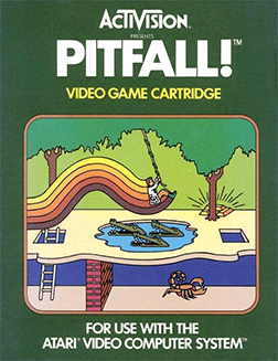 pitfall 2600 cover